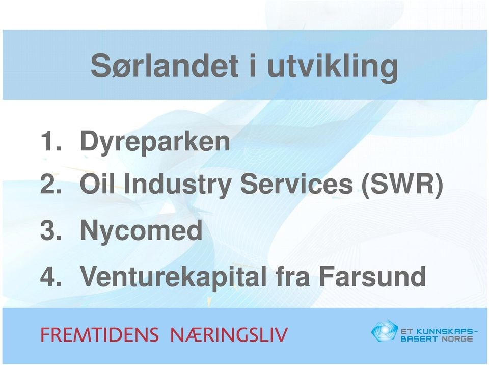 Oil Industry Services