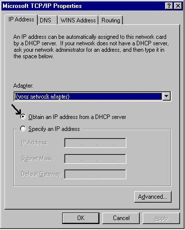 Hurtigstartguide Konfigurering av PC i Windows NT4.0 1. Gå til Start / Innstillinger / Kontrollpanel.