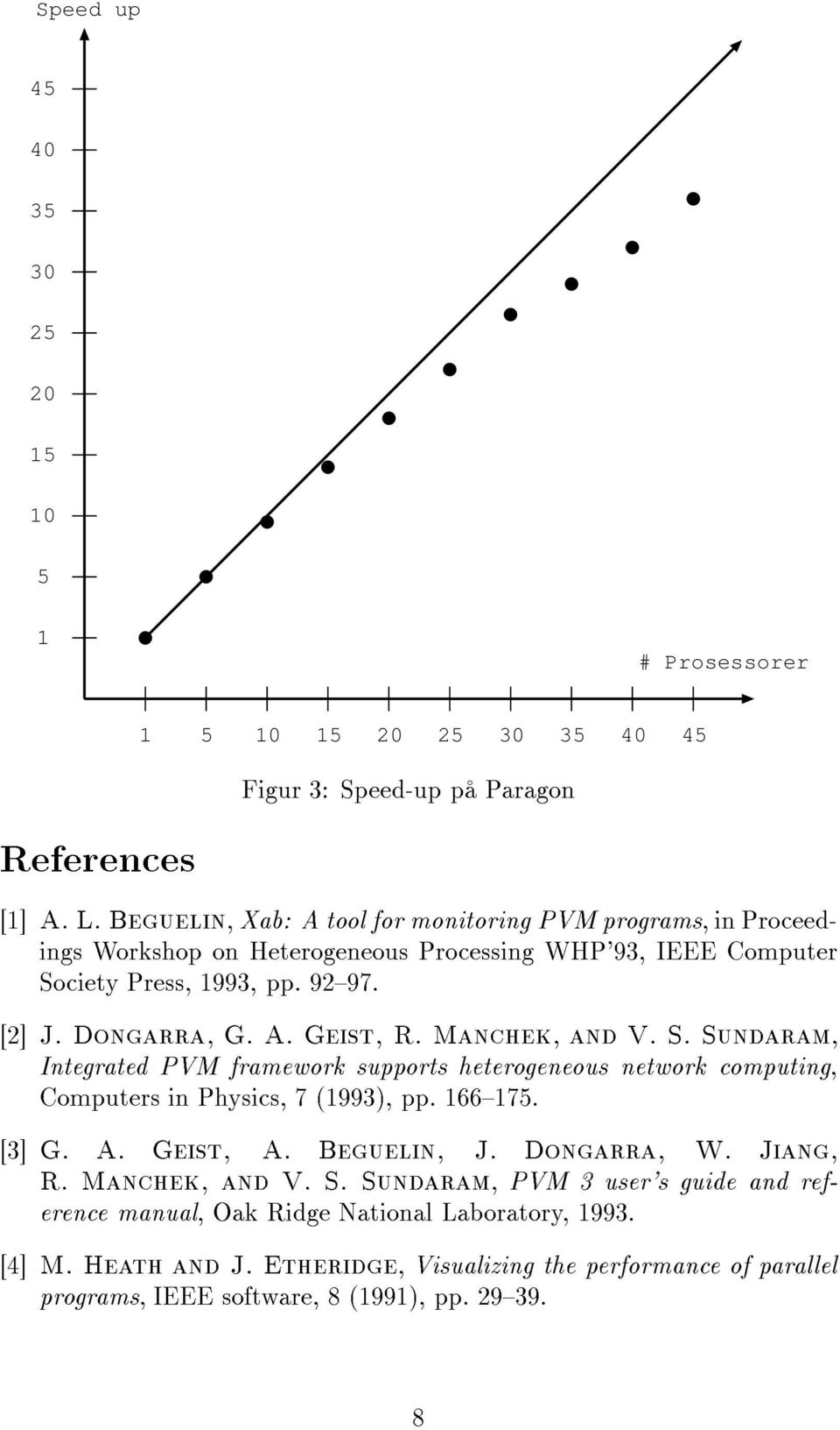 Manchek, and V. S. Sundaram, Integrated PVM framework supports heterogeneous network computing, Computers in Physics, 7 (1993), pp. 166175. [3] G. A. Geist, A. Beguelin, J. Dongarra, W.