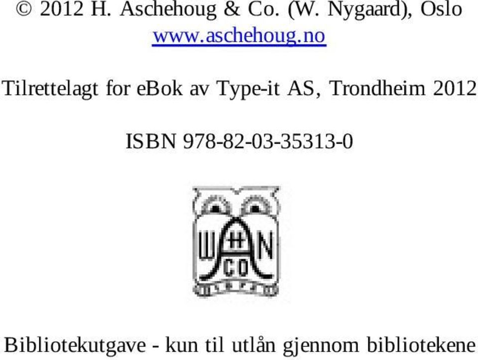 no Tilrettelagt for ebok av Type-it AS,