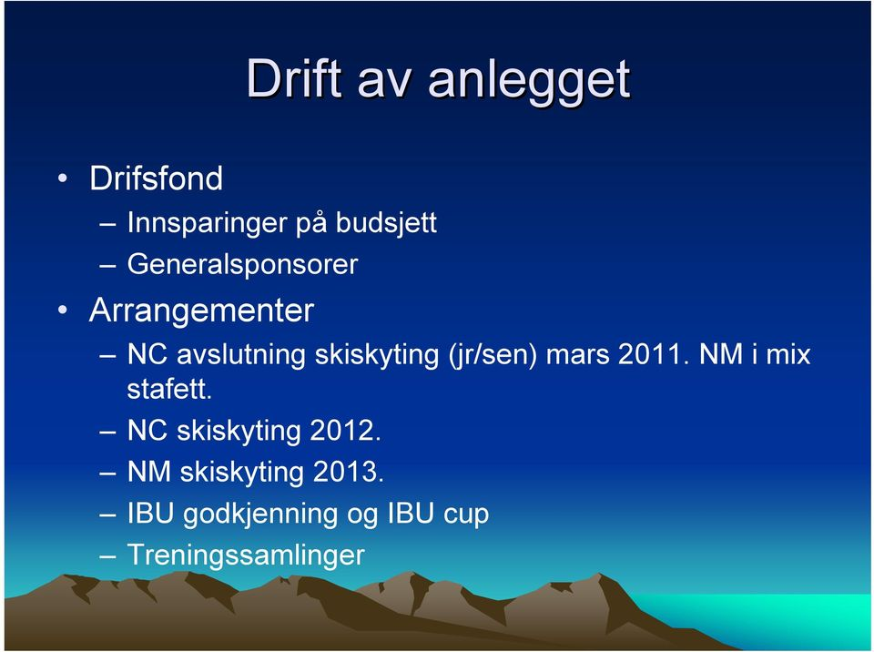 (jr/sen) mars 2011. NM i mix stafett. NC skiskyting 2012.
