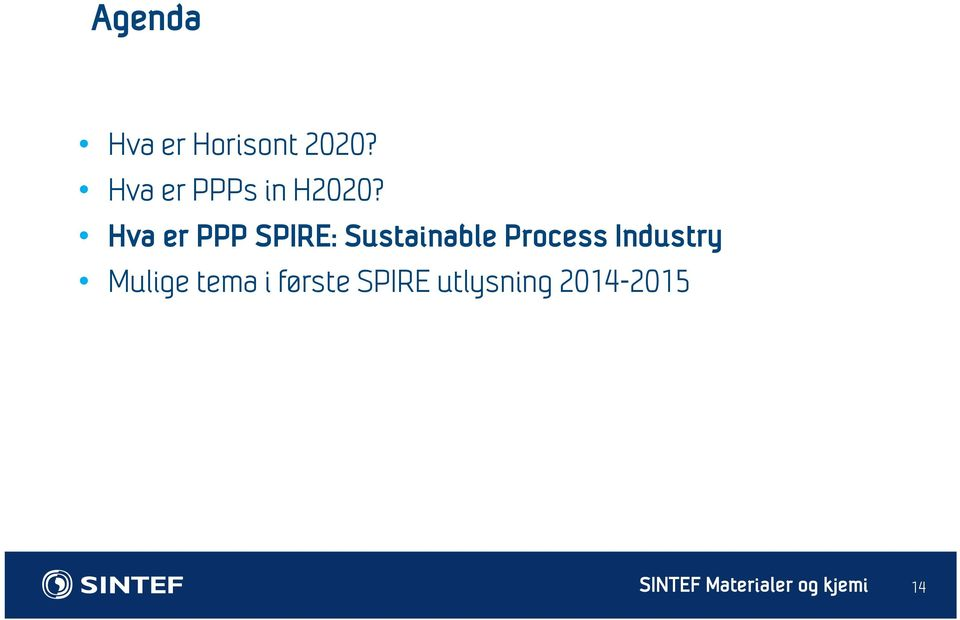 Hva er PPP SPIRE: Sustainable Process