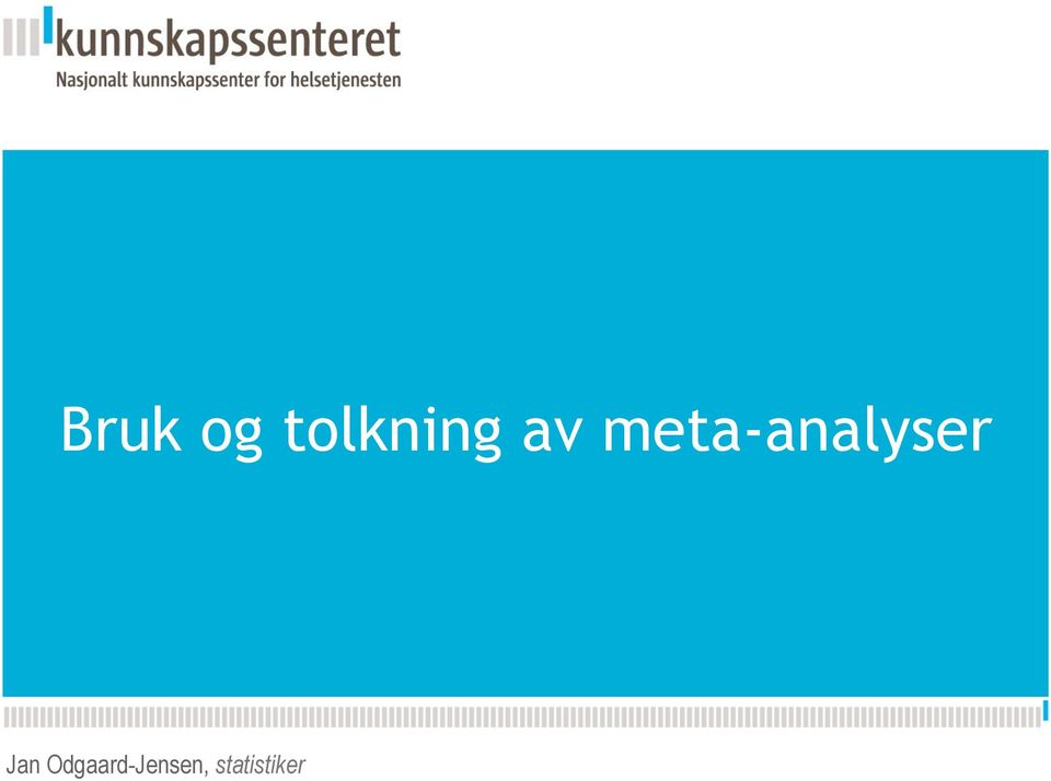 av meta-analyser Jan