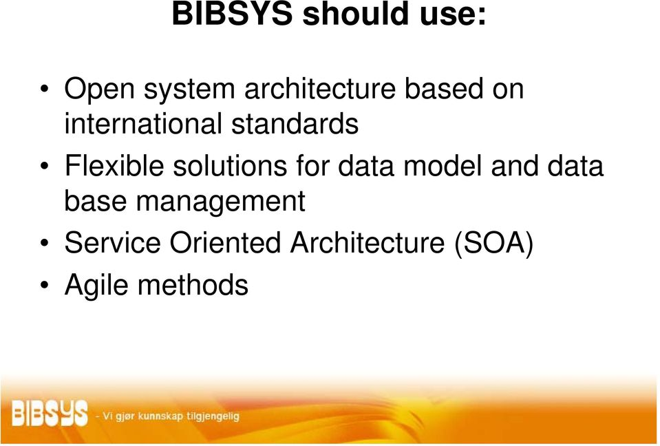 solutions for data model and data base