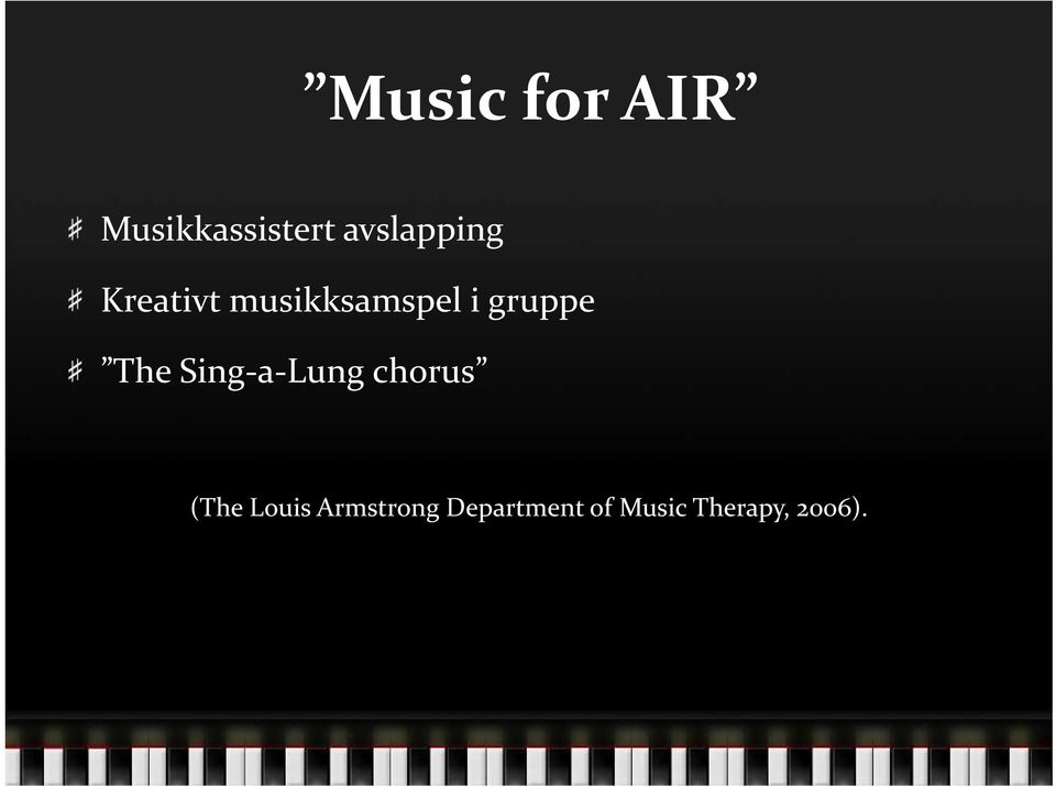 gruppe The Sing-a-Lung chorus (The