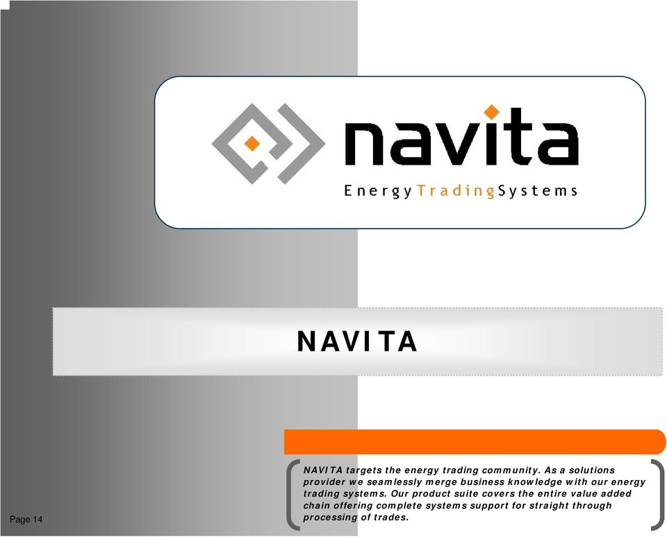 energy trading systems.