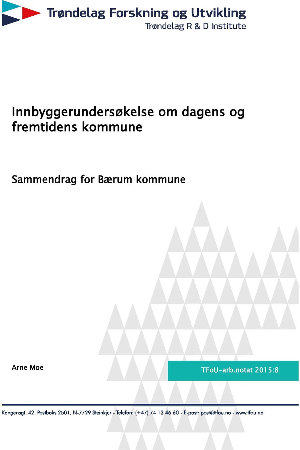 Sammendrag for Bærum kommune