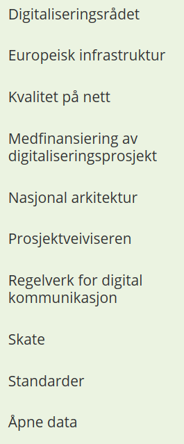 Difi pådriver for digitalisering Digitale fellesløsninger Digitalisering og samordning 3 nasjonale felleskomponenter Norge.