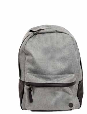 165 120 CITY 8950 NEW Smart backpack til by- og turbruk. Polstrede bærestropper og rygg. Praktisk og romslig frontlomme.