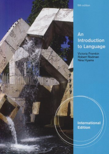 Pensumlitteratur An Introduction to Language (8th Edition) by Victoria A.