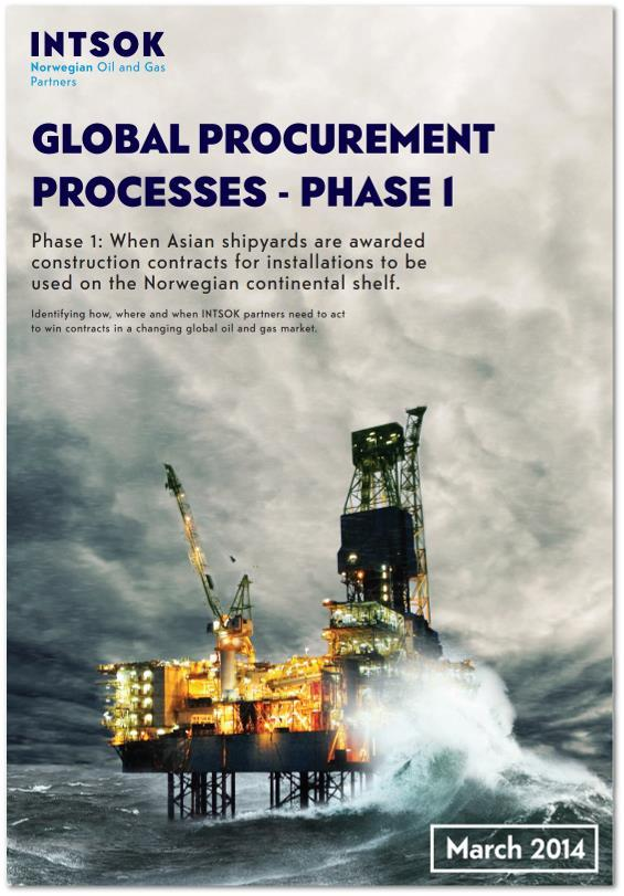 Oil Companies run their global procurement process Hvorfor?