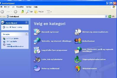 Windows XP: 1. Startmeny 2.