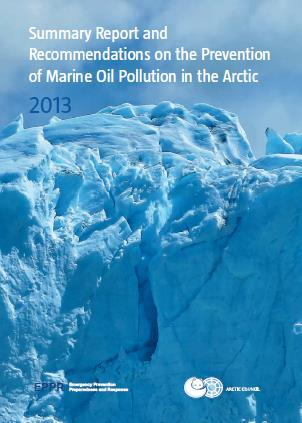 EPPR prosjekter Guide to oil spill response in Snow and Ice conditions in the