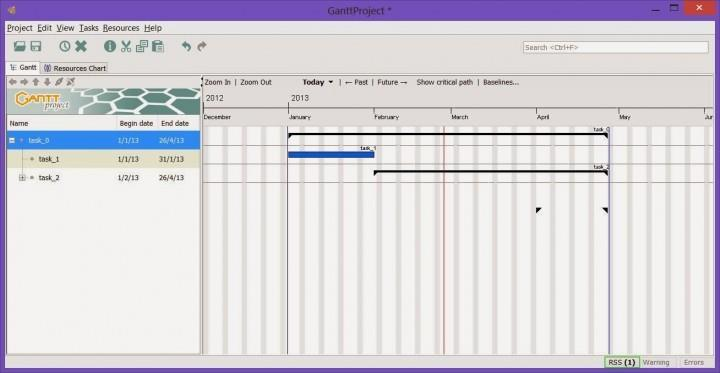 GanttProject GanttProject is another open-source free project scheduling and management tool.
