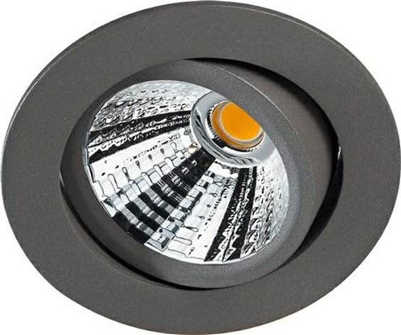 SHINE 48 R LED OUTDOOR Innfelt LED downlight av presstøpt