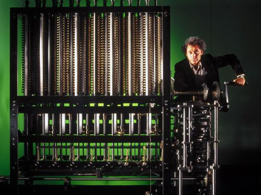 Charles Babbage Difference engine Charles Babbage planla