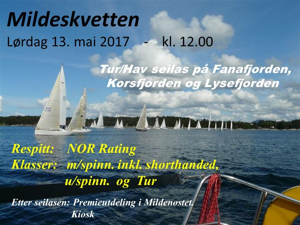 00 Klasser: NOR Rating med spinnaker