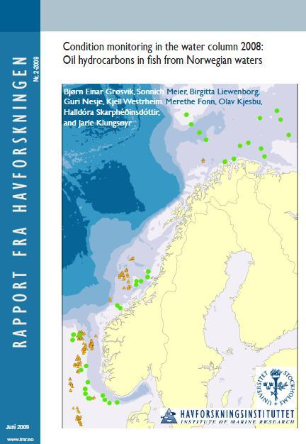 It is not considered likely that metals from PW can cause biological effects on in North Sea ecosystem.