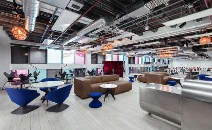 Copyright: wework Interchange co-working space by
