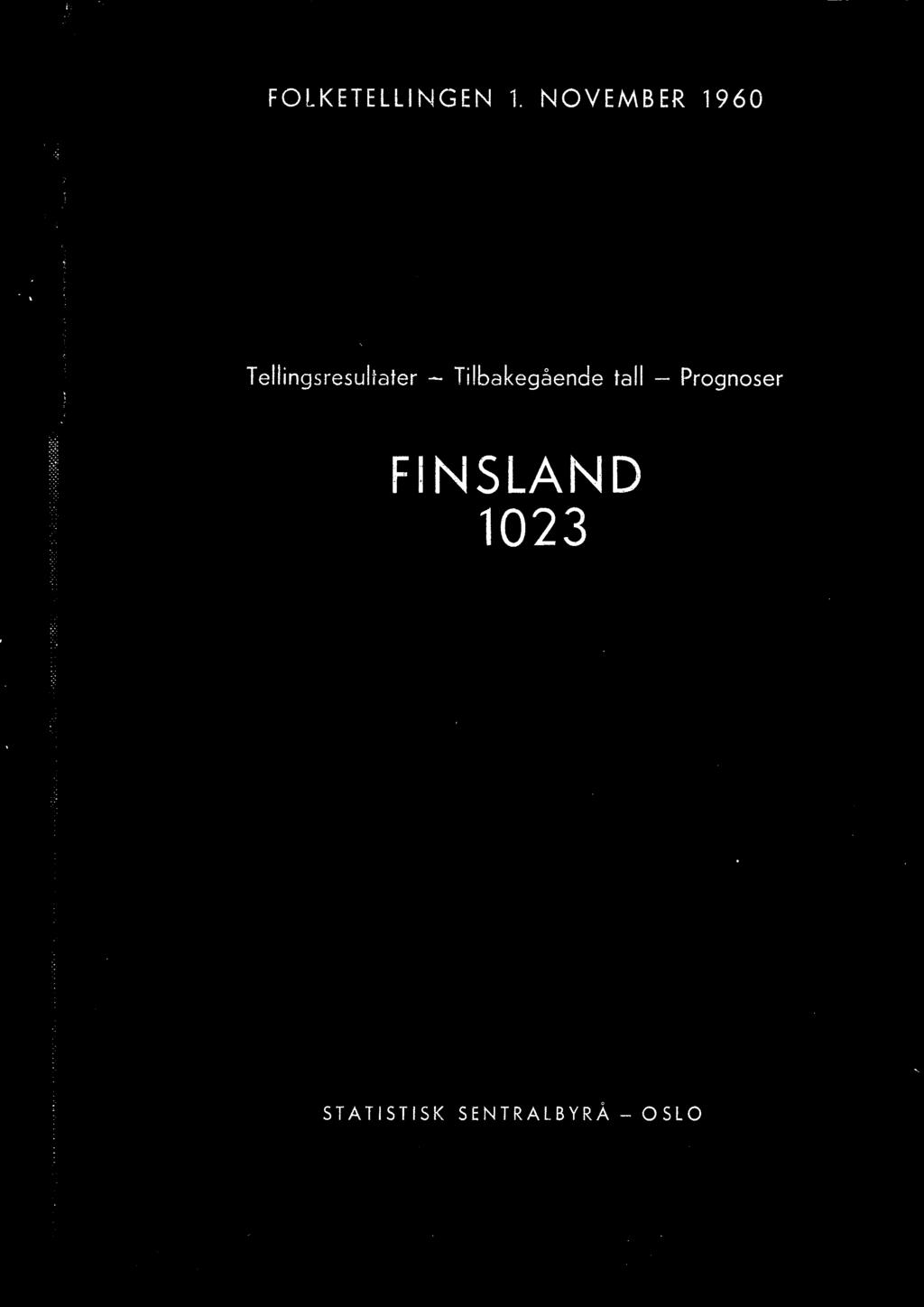 Prognoser FINSLAND