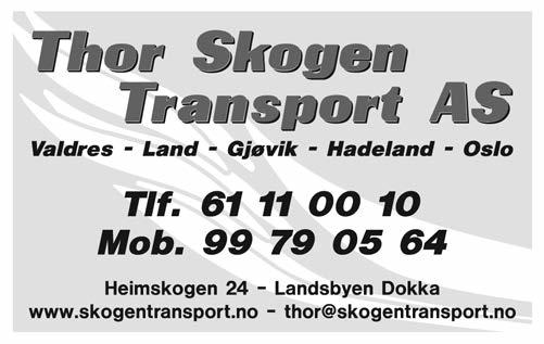 thor skogen transport
