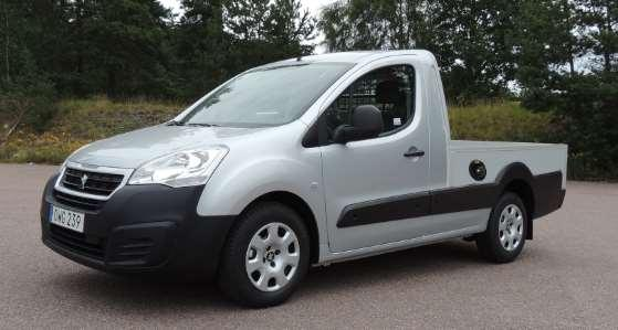 Peugeot Partner Pick-Up, varebil Prisliste gjeldende fra 1.6.217 Partner Pick-Up avg Mva. Veil.