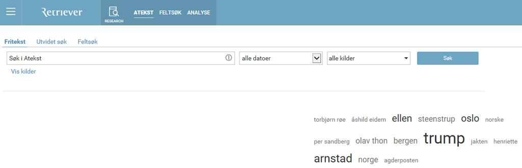 ATEKST databasen