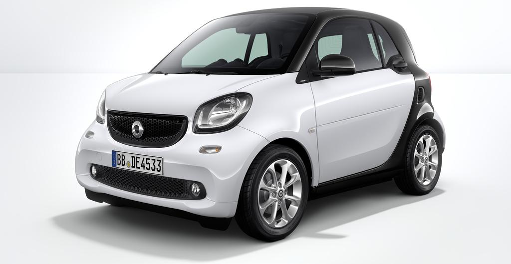 >> smart fortwo electric drive STAR smart fortwo electric drive 169 900,00 258 Active Brake Assist 440 Cruise control 873 Varme i seter B48 Ladekabel for jordet stikkontakt B58 smart control C04 DAB+