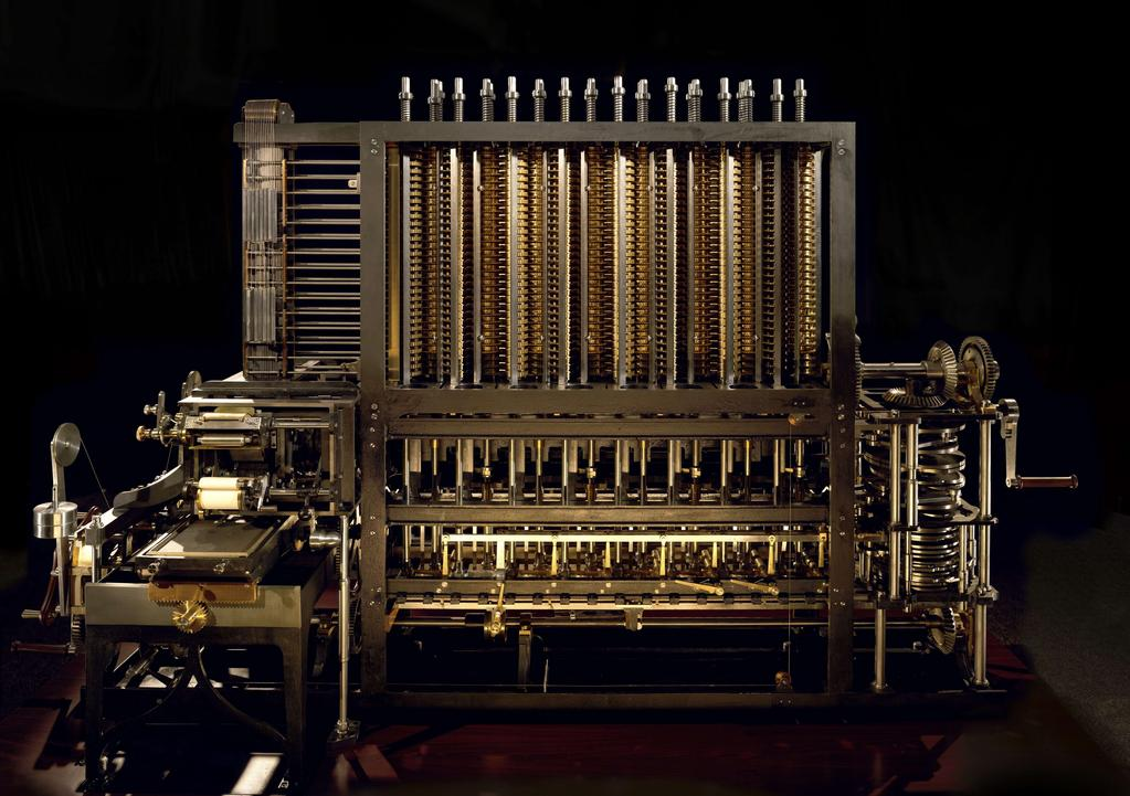 Analoge Tabeller Digitale Videre Charles Babbage Difference engine Charles Babbage