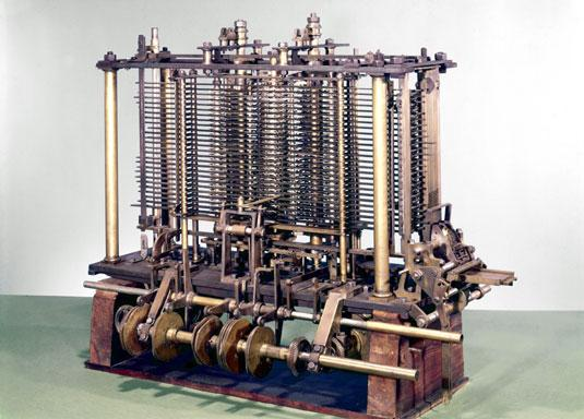 Charles Babbage Analytical engine Denne maskinen var nok