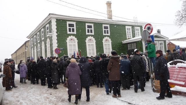 January 22, 2016 could finally the green synagogue in the Latvian town of Rezekne open its doors after being closed for nearly 25 years.