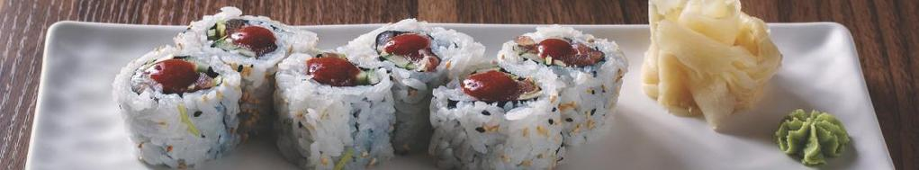 08 California maki Crabsticks og 50,-/55,- Allergener: