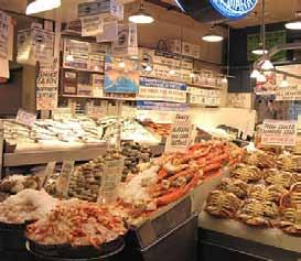 Pike Place Fish Market, Seattle, Bandaríkin Pike Place Fish Market er