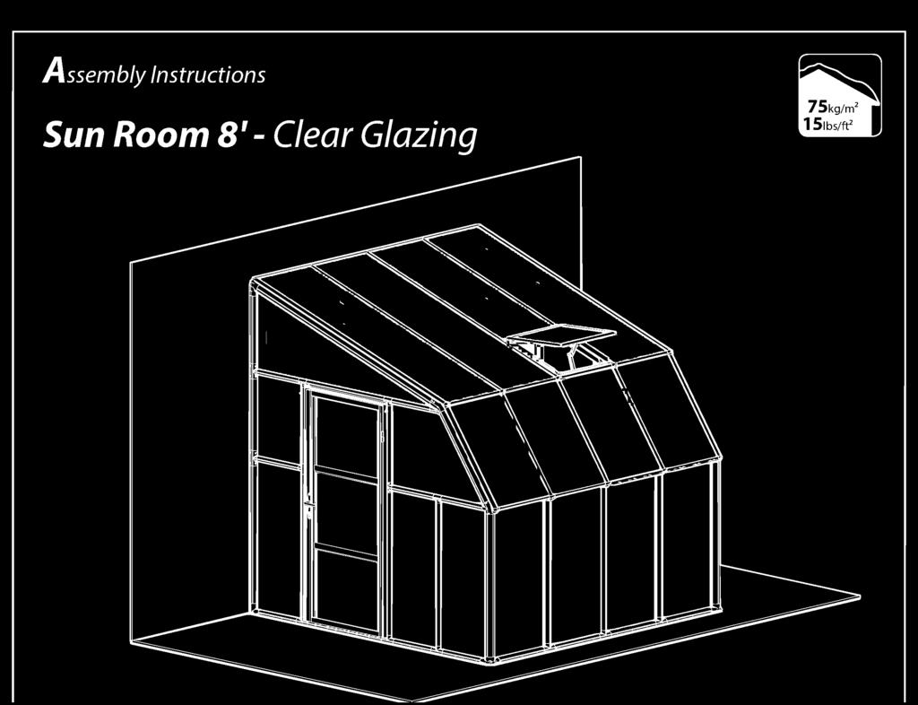 Room 8' - Clear Glazing