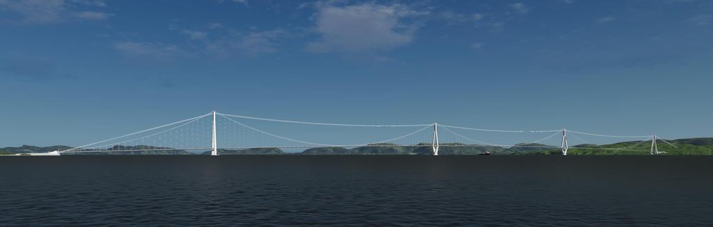 Challenges in bridge design for the ferry