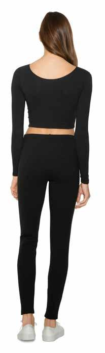 AA70 8328W Women s Cotton Spandex Jersey Legging Women S XL Myk og