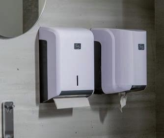 PAPER DISPENSERS With their optimized design and ergonomics, our paper dispensers are conceived and developed to be easy to use and to maintain.