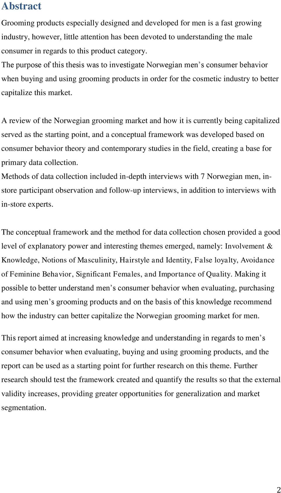 Capitalizing on men s vanity pdf the purpose of this thesis was to investigate norwegian men s consumer behavior when buying and fandeluxe Images