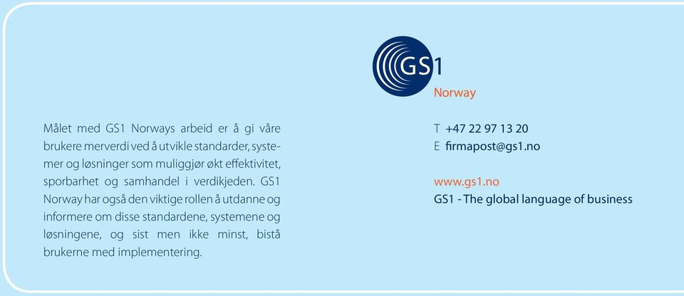 Her er de nye retningslinjene for produktmerking | GS1 Norway
