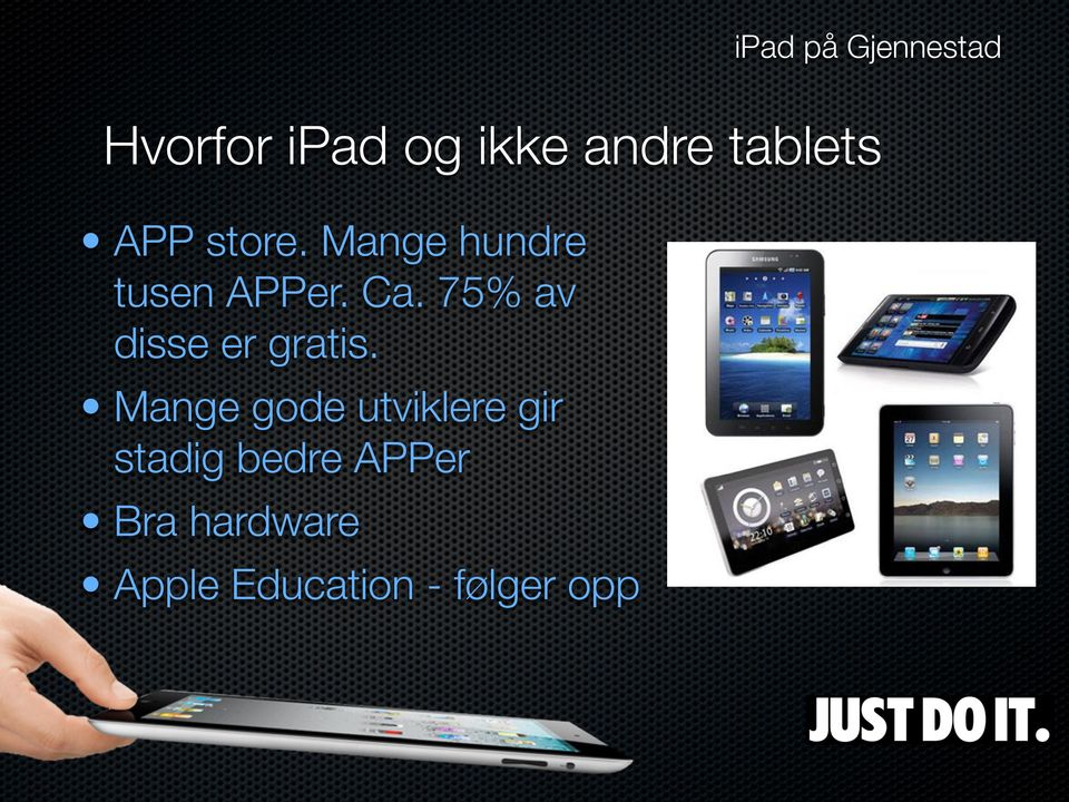 Gratis oppkobling apps for iPad
