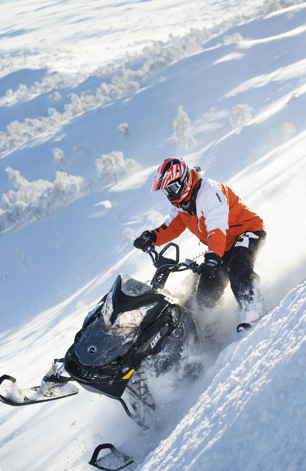 LIVE TO RIDE BEAT EXTREME CONDITIONS GRAFIKKSETT SIKKERHET I